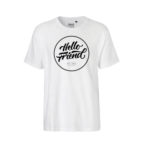 HELLO FRIEND WHITE T-Shirt