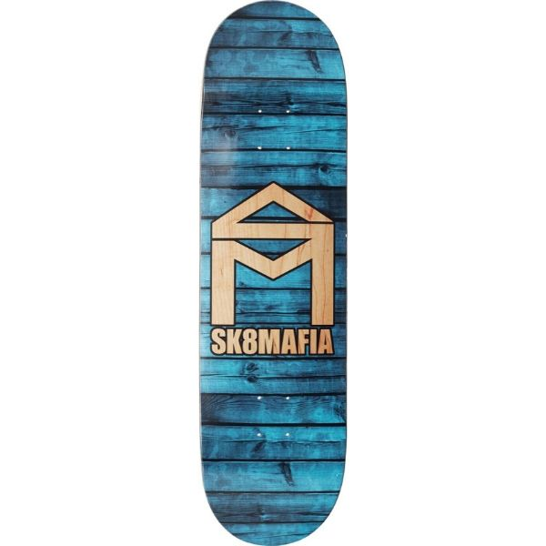 Sk8mafia House Logo Skateboard Deck Blue (2)