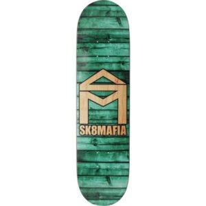 "Sk8mafia House Logo Skateboard Deck (8"" - Teal)"