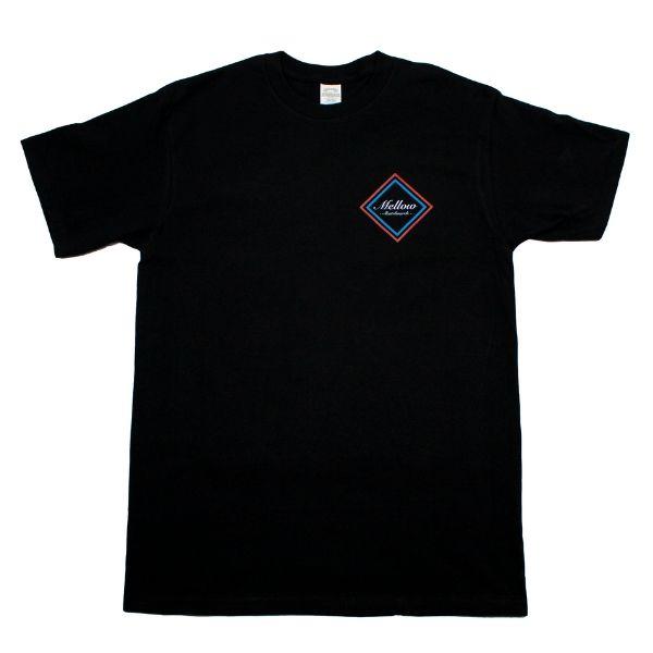 Mellow skateboards T-Shirt Sort