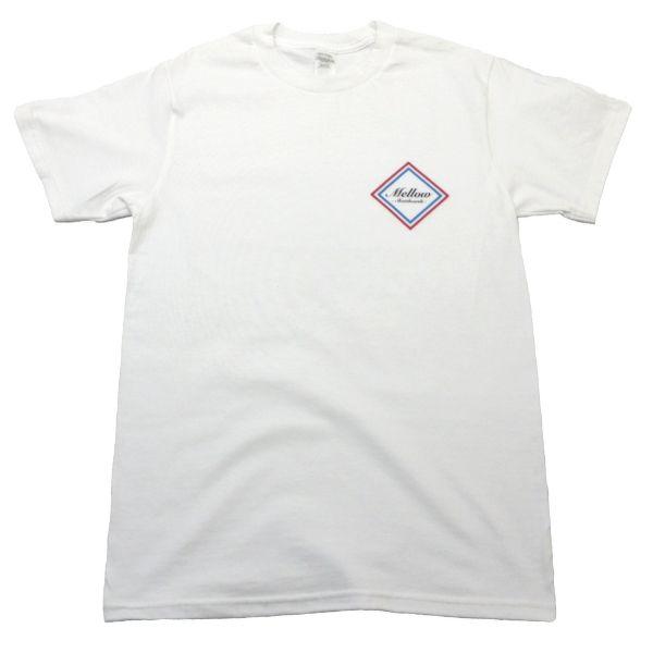 Mellow Skateboards T-shirt Hvid