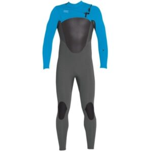 3/2 Axis X Wetsuit Graphite Electric Blue